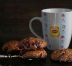 Диетические английские булочки сконы с вишней   Рецепты правильного питания - Эстер Слезингер