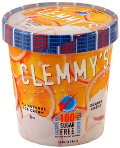 Order Clemmy's All Natural Sugar Free Ice Cream Online! Belly Fat Cure Approved!