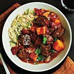 I love tagines and butternut squash.  Beef Tagine with Butternut Squash
