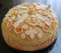 Ukrasi od testa za slavski kolač