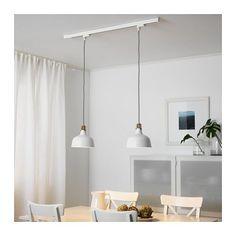 SKENINGE / RANARP Binario con 2 lampade a sospensione  - IKEA