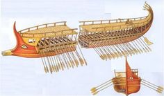 "Etruscan Triremes with the ""eyes"""