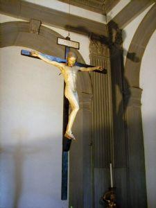 Crucifix (Detail) Michelangelo Buonarroti Italian 1475-1564 1492 Italian Renaissance Wood Santo Spirito; Florence, Italy