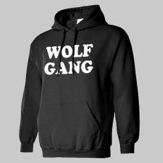 WOLF GANG WOLFGANG haley hoodie hooded sweatshirt by alrighttees, $24.50