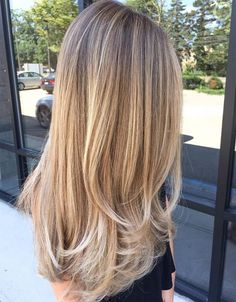 Glamorous Blonde and Silver Ombre Hairstyles 2017