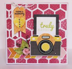 card by Anita Bownds  #kaisercraft