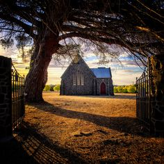 Scot's Uniting Church in Lake Bolac, Victoria, Australia. by Paul Emmings