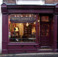 Loving these Antique Shops, UK