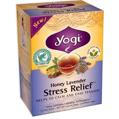 Second favorite tea. Love lavender and that it's got honey flavor without honey calories.