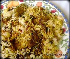 Recipe for Chicken Biryani – Kerala Style Ingredients : For Rice : Basmati rice : 2 cups Water : 4 cups Cloves Healthy Dinner Recipes, Indian Food Recipes, Ethnic Recipes, Kerala Recipes, Chicken Biryani Recipe Indian, Dum Biryani, Kerala Food, Paneer Recipes, Desi Food