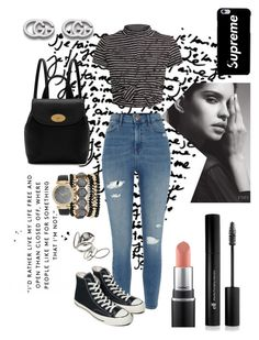 """My style"" by hiru-ha on Polyvore featuring River Island, Converse, Mulberry, Gucci, Forever 21, Jessica Carlyle and Topshop"