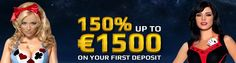 Play Cosmik Casino Online and Get Welcome Bonus up to €1,500 Free!