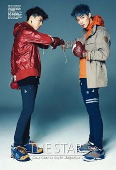 GOT7 for THE STAR JB and Yugyeom