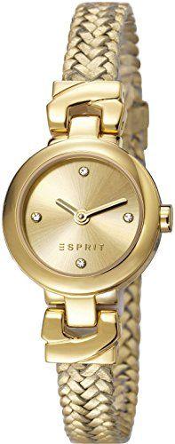 Esprit-Damen-Armbanduhr-XS-Analog-Quarz-Leder