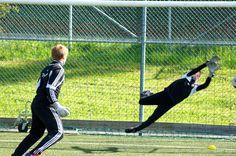Individuell träning 18/5 2012, Goeras Football Education. Alexander och Harald, FC Djursholm
