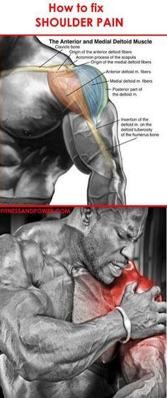 How to Fix Shoulder Pain