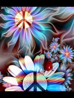 ☮✌~Paz~✌☮ Peace  ⊰❁⊱ Mandala ⊰❁⊱