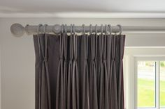 Double pleat curtains. Bespoke Curtains by SauPing.