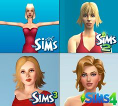 The evolution of The Sims | For more daily Sims 3 & 4 pins follow http://www.pinterest.com/itsallpretty/the-sims-3-4/
