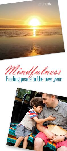Mindfulness ~ Finding peace in the new year. howdoesshe.com