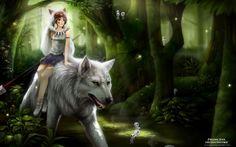 Fonds+d'écran+Dessins+Animés+>+Fonds+d'écran+Princesse+Mononoke+Wallpaper+N°352717+par+maryska+-+Hebus.com                                                                                                                                                                                 Plus