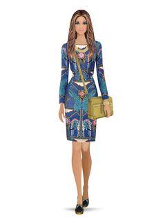 Rachel Zoe #covet #fashion Rachel Zoe, Covet Fashion, Peplum Dress, Dresses With Sleeves, Long Sleeve, Outfits, Suits, Sleeve Dresses, Long Dress Patterns