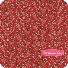 Cinnamon Spice Red Cinnamon Carnation Yardage SKU# 2705-12