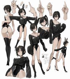 𝖿𝗋𝖾𝗇𝗀 (@frengchiano2) / Twitter Character Poses, Female Character Design, Character Design References, Character Design Inspiration, Character Art, Anime Girl Drawings, Anime Art Girl, Manga Art, Manga Poses