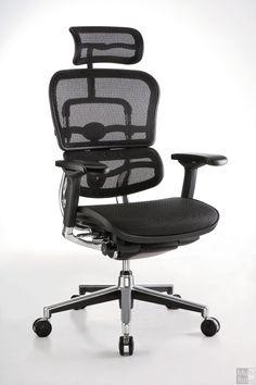 De ERG V2 bureaustoel blinkt uit in zijn ergonomische eigenschappen en maximaal zitcomfort. De rug en zitting met netbespanning, in combinatie met het chromen frame zorgt ervoor dat deze stoel in ieder interieur tot zijn recht komt.
