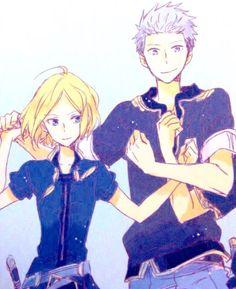 cool Akagami no Shirayukihime - Zen and Shirayuki #manga #anime Kiki and Mitsuhide ...