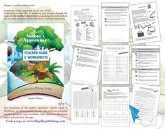Learn how to write like an author to create effective narratives. Worksheets and teacher guide page. Narrative Story, Way Of Life, Teacher Resources, Worksheets, Writer, Coding, Author, Activities, Learning