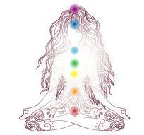 Chakras are the channels for the flow of Universal energy (Prana, Chi, Ki).
