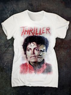 MICHAEL JACKSON 'THRILLER' TSHIRT - Vintage
