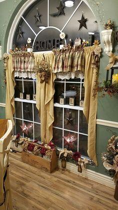 More burlap curtains!!! More