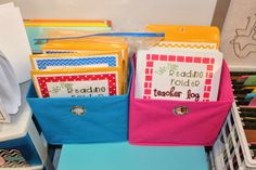 Take Home Readers - replace the ziplock book bag