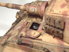 Zoom avant (dimensions réelles: 1000 x Tiger Ii, Bengal Tiger, World War Two, Diorama, Tanks, Two By Two, German, Models, Gun Turret