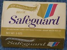 Safeguard Soap - Will always remind me of my grandparents' house!