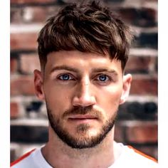 Check Out These 30 Fringe Hairstyles For Men 2020 1.Temple Fade With Textured Fringe Haircut 2.Long Punk Bangs And Undercut 3.High Skin Fade With Curly Fringe 4.Short Textured Bangs 5.Fringes With Shaved Hairline 6.Long Wavy Fringe With Fade 7.Messy Fringe 8.Tapered Crew Cut 9.French crop + Beard 10.Asian Undercut + Bangs 11.Fringe Undercut With Beard Short Mohawk Fade #menshairstyles #menshaircuts