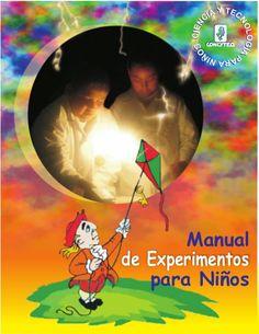 Manual de experimentos para niños.
