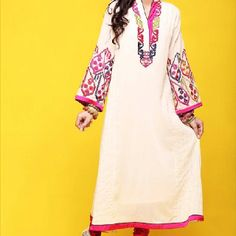 Chinyere couture. Love the style of this Pakistani dress