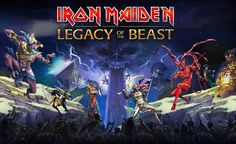 Introducing Iron Maiden: Legacy of the Beast! An epic mobile RPG set in the expansive Iron Maiden universe launching Summer Iron Maiden, The Beast, Dragon Quest, Deep Purple, Beast Videos, Beast Games, Game Mobile, Play Mobile, Ios