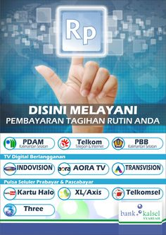 poster design for Bank Kalsel Payment Point
