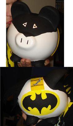 Bat Piggy Bank
