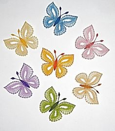 Scrap Quilt Patterns, Bobbin Lace Patterns, Crochet Butterfly Pattern, Bruges Lace, Bobbin Lacemaking, Types Of Lace, Point Lace, Lace Jewelry, Tatting Lace