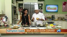 ... meal that is to die for: Maple Miso Dijon Corvina #holidayrecipe