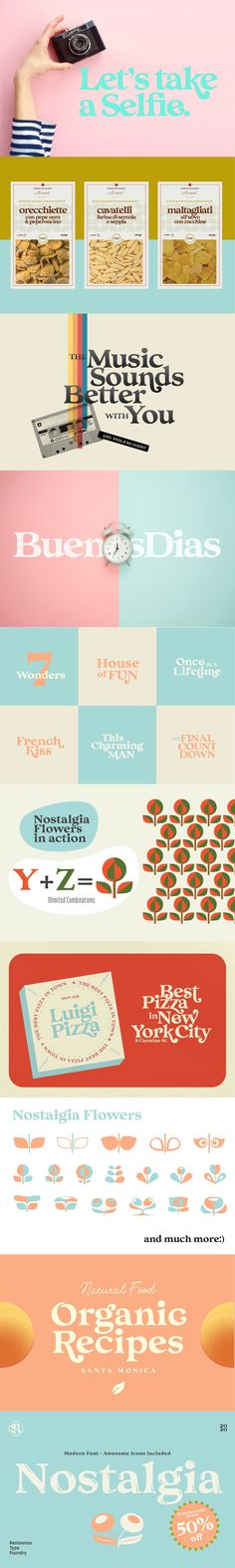 Say Hello to Nostalgia! A Modern Font with a retro feeling 3 Fonts Regular, Effect and Flowers --- You can Access your OpenType features and discover a large Best Serif Fonts, Central And Eastern Europe, Modern Fonts, Magazine Design, Say Hello, Wedding Cards, Nostalgia, Language, Let It Be