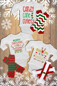"This bodysuit is part of our EXCLUSIVE ""Snow Cute"" Baby & Toddler 2017 Holiday Collection! ""Snow Cute"" is a handmade original line from Alandalie Boutique! Boy Onesie, Onesies, Sexy Tattoos For Women, Perfect Body Shape, Gymnastics Gifts, Holidays 2017, Gym Rat, Sexy Body, Body Shapes"