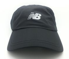 91d6f34cdf5e1 NEW BALANCE GO2 Hat Running Adjustable Strap Black Cap One Size Fits Most  NWT  NewBalance