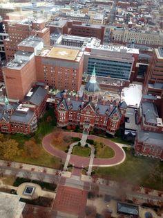 Johns Hopkins, Baltimore Maryland