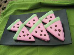 Gourmet Dog Treats - Watermelon Decorated Dog Treats